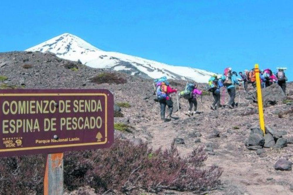 Grave accidente de militares en el volcán Lanín