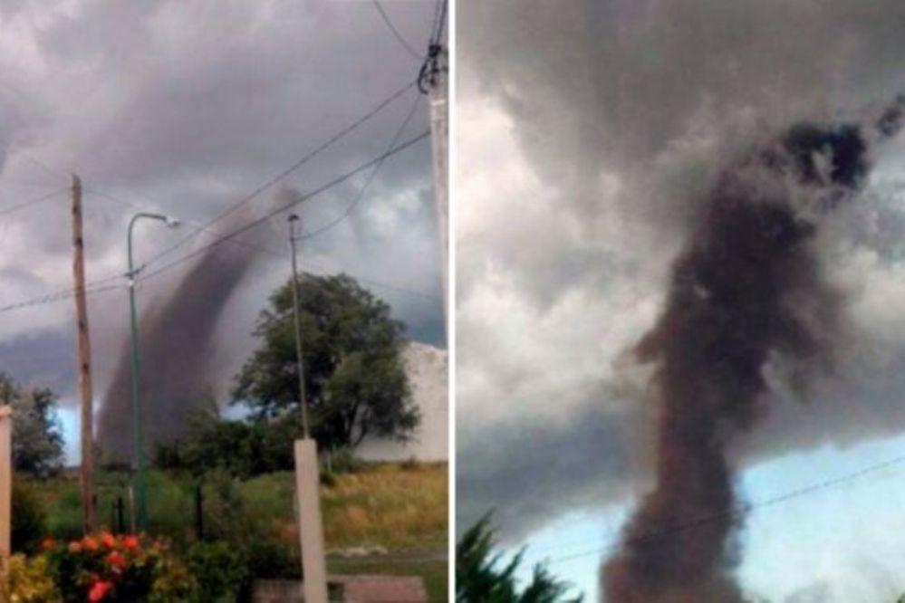 VIDEO: Impactante tornado causó pánico en San Luis
