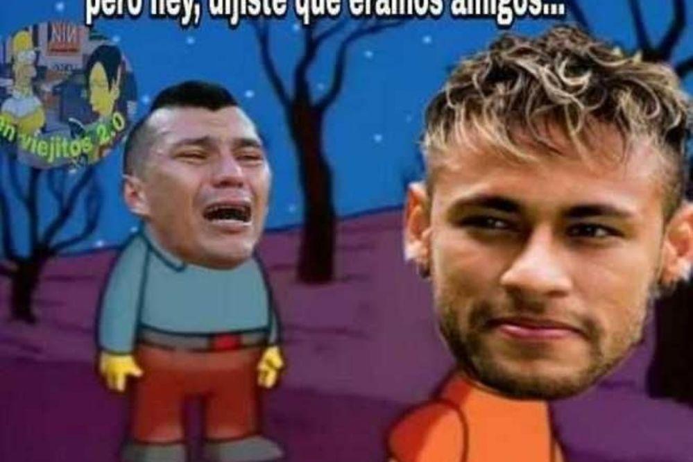 Todos los memes fueron contra Chile