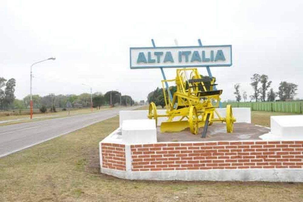 ALTA ITALIA  : Falleció una persona después de cortarse las venas y tomar herbicida