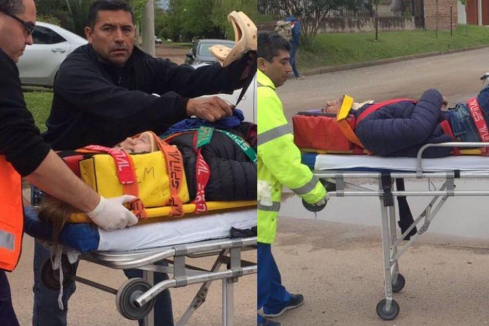 Mira el estado de salud de los chicos accidentados en calle 16 y 107