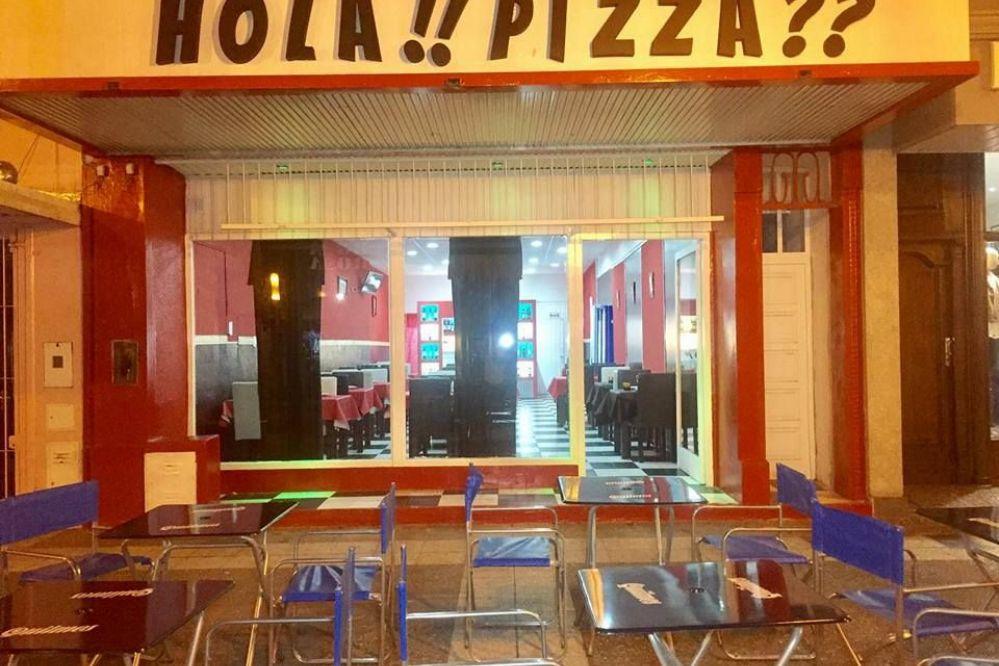 """INAUGURO """"HOLA PIZZA"""" EN PLENO CENTRO PIQUENSE-MIRA  EL VIDEO Y LAS FOTOS"""