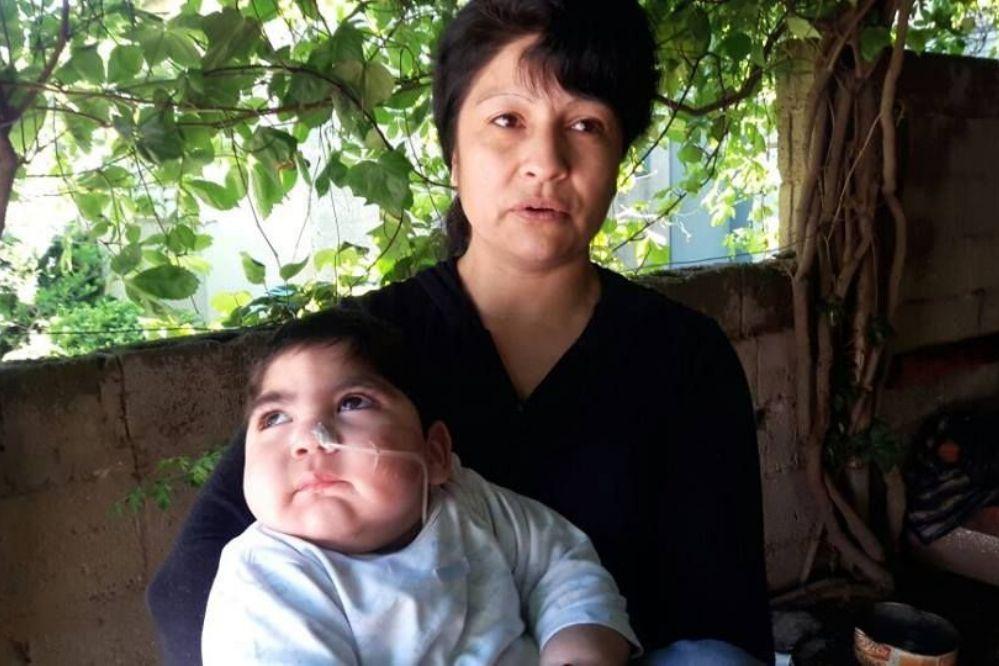 GENERAL PICO: El pequeño Uziel, hoy no tiene la medicación que necesita