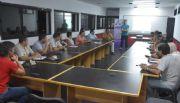 GENERAL PICO: Se reunió el COE en el cuartel de Bomberos