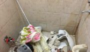 INEXPLICABLE: Dos sujetos se alojaron en un Hotel y rompieron toda la habitación, ocurrió en una localidad pampeana