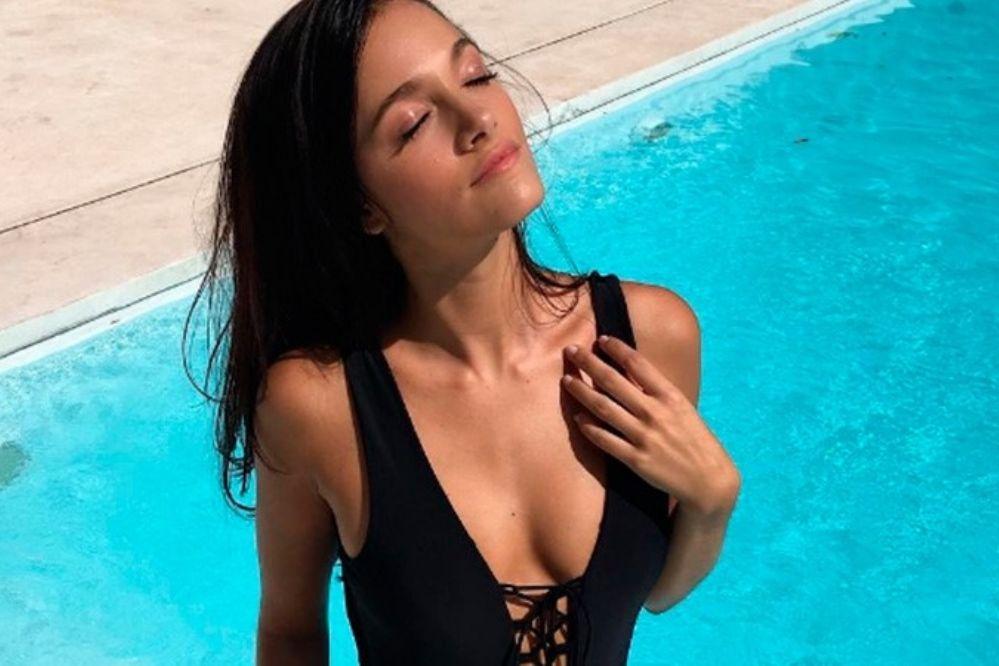 Las fotos sexys de Oriana Sabatini en la playa