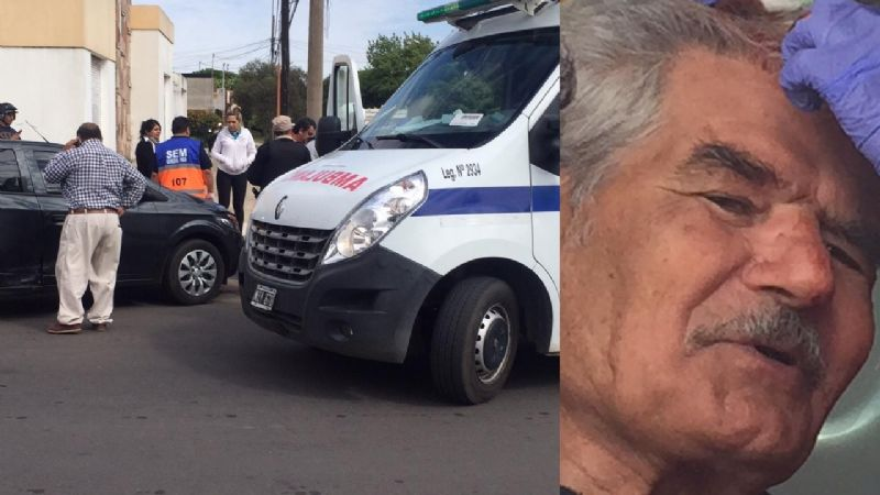 Accidente entre dos autos en calle 9 y 8-Video y fotos