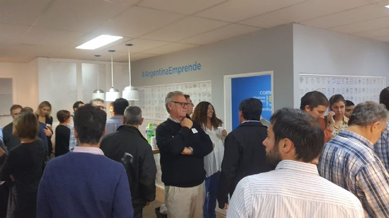 Se inauguró oficialmente el Club de Emprendedores-Video y fotos