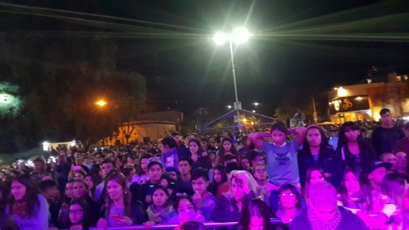 PAMPA BAILA 2019: Se está desarrollando el festival Pampa Baila en General Pico - Fotos y Video