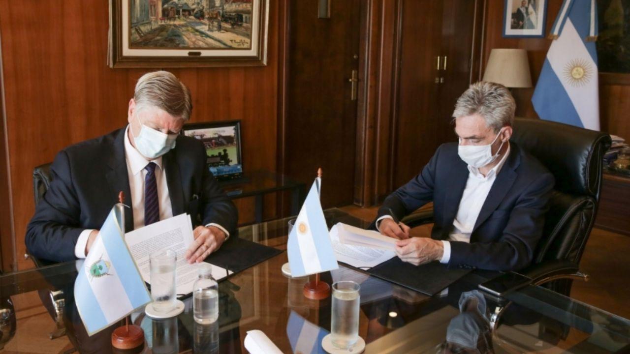 Ziliotto acordó con Meoni una nueva terminal para Santa Rosa